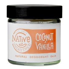 Native Unearthed Coconut & Vanilla Deo Balm 60g