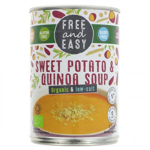 Free & Easy Sweet Potato and Quinoa Soup 400g