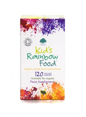 G&G Kids Rainbow Food - 120 Children's Capsules