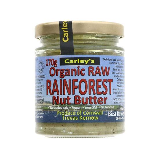 Carleys Rainforest Nut Butter 170g