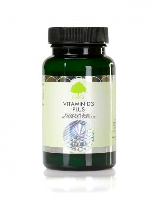 G&G Vitamin D3 Plus (with calcium & K2) - 60 Capsules