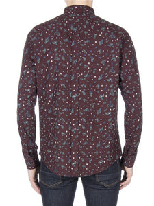 Ben Sherman Marl Paisley Oxford Shirt