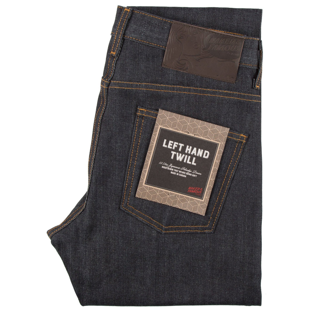 Naked & Famous Super Guy Fit Denim - Left Hand Twill