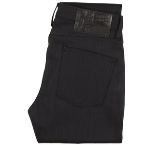 Naked & Famous Super Guy Fit Denim - Black Power Stretch