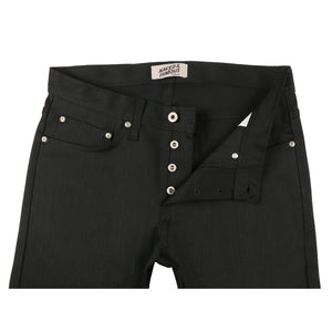 Naked & Famous Weird Guy Fit Denim - Black Power Stretch