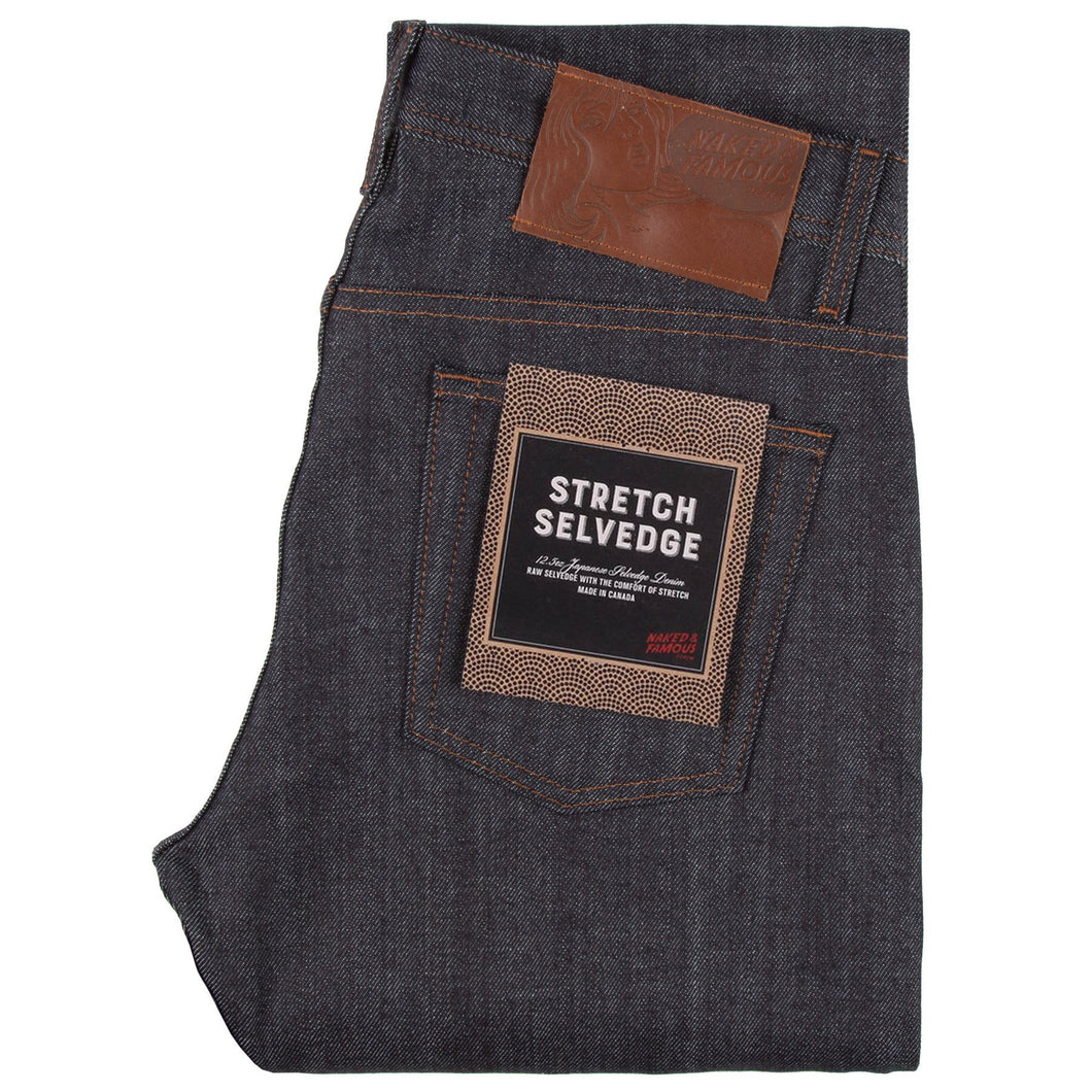 Naked & Famous Weird Guy Fit Denim - Stretch Selvedge