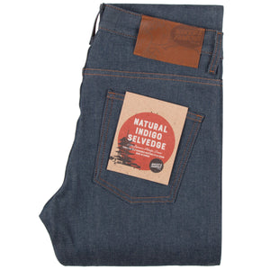Naked & Famous Skinny Guy Fit Denim - Natural Indigo Selvedge