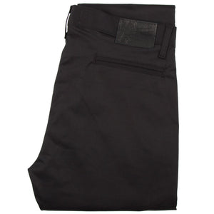Naked & Famous Slim Chino - Black Stretch Twill