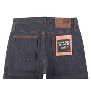 Naked & Famous Weird Guy Fit Denim - Dirty Fade Selvedge