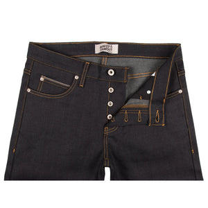 Naked & Famous Skinny Guy Fit Denim - Deep Indigo Stretch Selvedge