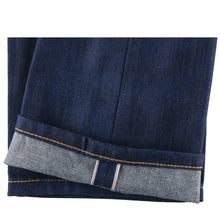 Load image into Gallery viewer, Naked & Famous Super Guy Fit - Kasuri Stretch Selvedge