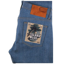 Load image into Gallery viewer, Naked & Famous Weird Guy Fit - Island Blue Denim