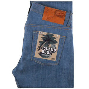 Naked & Famous Weird Guy Fit - Island Blue Denim