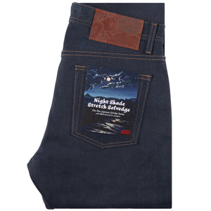 Naked & Famous Weird Guy Fit Denim - Nightshade Stretch Selvedge