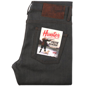 Naked & Famous Super Guy Fit Denim - Hunter Stretch Selvedge