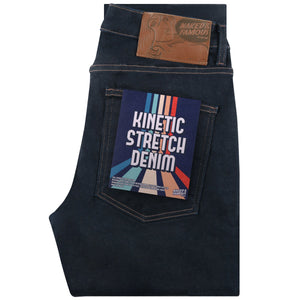 Naked & Famous Super Guy Fit Denim - Kinetic Stretch Denim