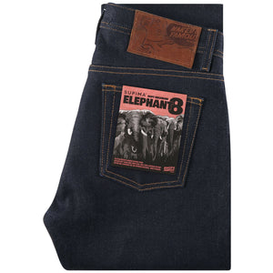 Naked & Famous Weird Guy Fit - Elephant 8 Supima Soft Selvedge