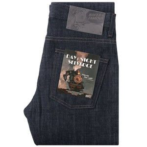 Naked & Famous Super Guy Fit Denim - Day & Night Selvedge