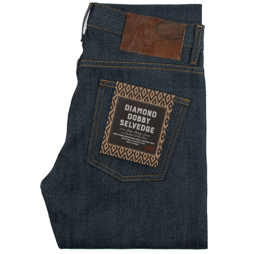 Naked & Famous Super Skinny Fit - Diamond Dobby Selvedge