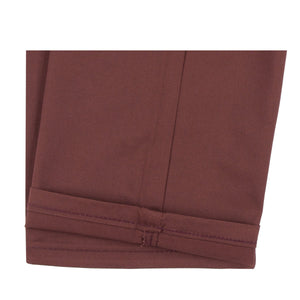 Naked & Famous Slim Chino - Burgundy Stretch Twill