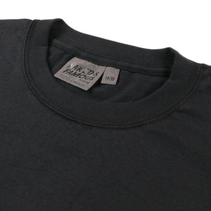 Naked & Famous Circular Knit T-Shirt - black