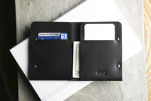 Load image into Gallery viewer, Kiko Unstitched Leather Two-Fold Wallet