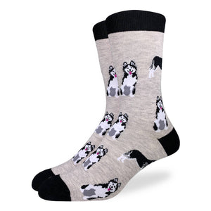 Good Luck Sock - Husky Crew Sock