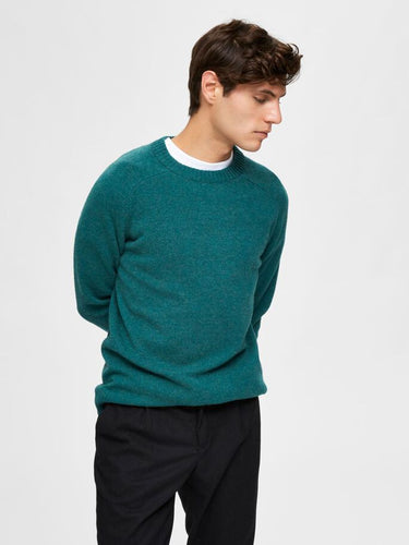Selected Homme Lambswool Crew Neck Sweater