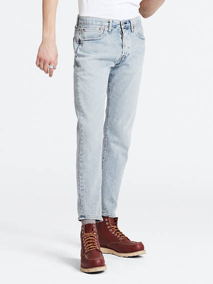 Levis Mens 501 Slim Taper Jean - Thistle Subtle