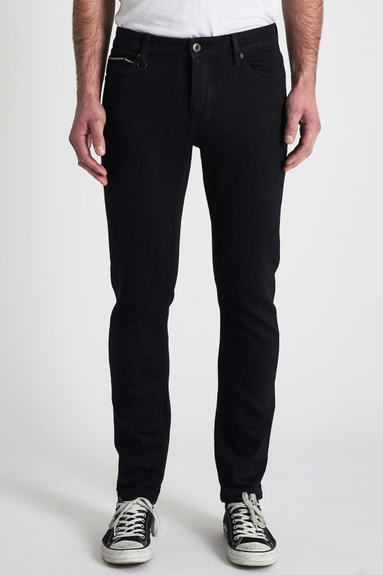 Neuw Iggy Skinny Fit Denim - Black Selvedge