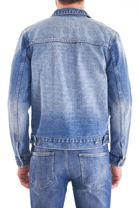 Neuw Type One Denim Jacket - Worn Indigo