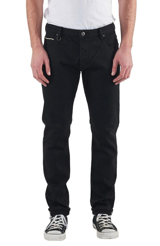 Neuw Lou Slim Fit Denim - Black Selvedge