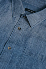 Load image into Gallery viewer, Matinique Dew Structured Denim Shirt