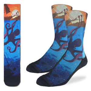 Good Luck Sock - Octopus Active Fit Sock