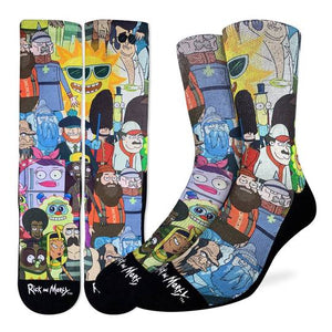Good Luck Sock - Rick & Morty Characters Active Fit Sock