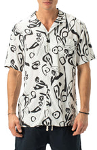 Load image into Gallery viewer, Zanerobe Wes Block Print SS Button-Up Shirt