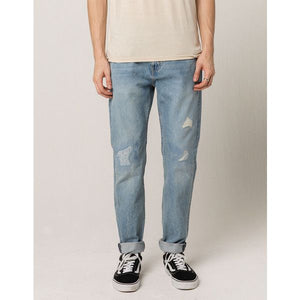 Levis Mens 512 Slim Taper - Distressed