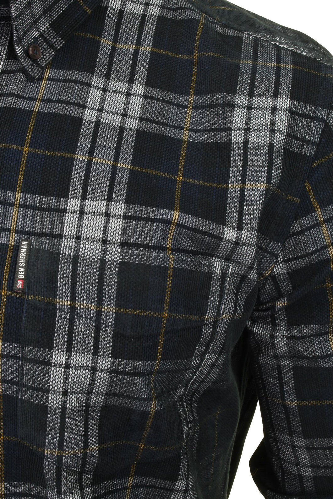 Ben Sherman Printed Check Shirt