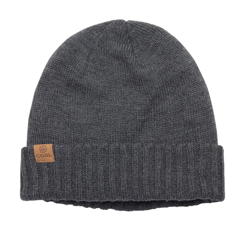 Coal - The Rogers Fleece Lined Cuff Beanie