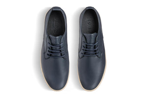 Clae Ellington Deep Navy Milled Leather