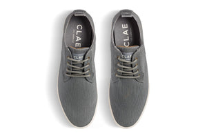 CLAE ELLINGTON TEXTILE charcoal textured canvas