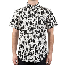 Load image into Gallery viewer, Naked & Famous Easy Shirt - Funny Cats