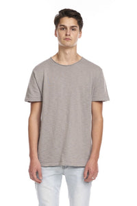 Kuwalla Tee Textured Knit Tee - Grey