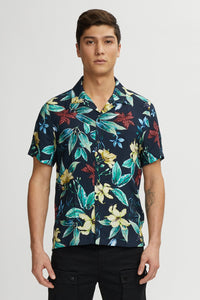 Kuwalla Tee SS Button-Up Beach Shirt