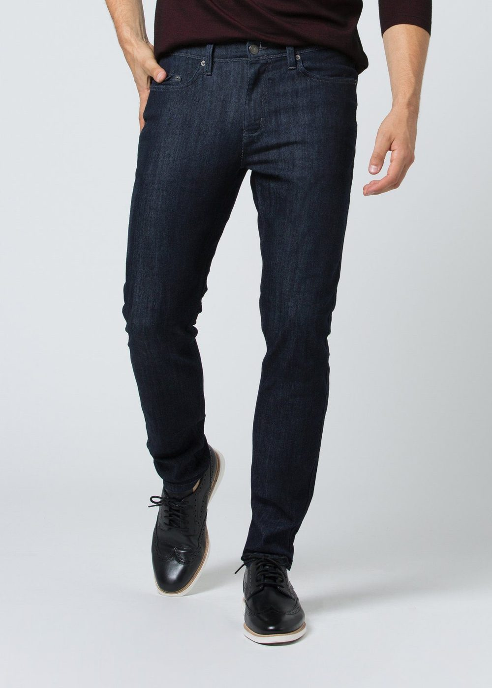 Duer Mens Slim Fit Performance Denim - Rinse