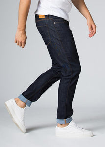 Duer Mens Relaxed Fit Performance Denim - Heritage Rinse