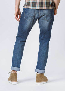 Duer Mens Relaxed Fit Performance Denim - Galactic