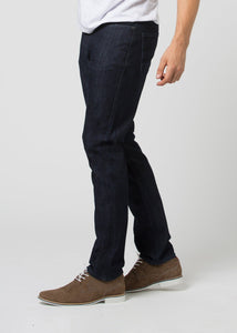 Duer Mens Relaxed Fit Performance Denim - Rinse