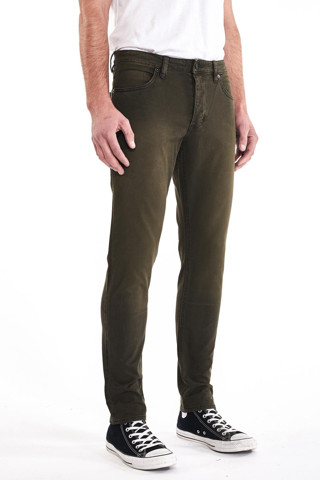 Neuw Lou Slim Fit Denim - Military