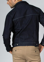 Load image into Gallery viewer, Duer Mens Performance Denim Jacket Indigo - Rinse